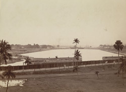 Calcutta Docks - General view